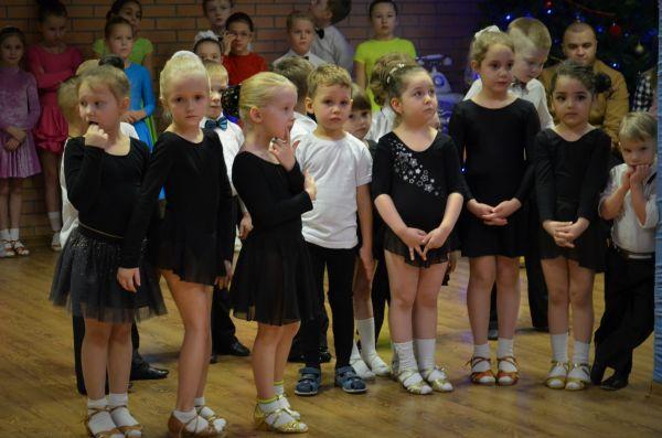 "Предновогодний открытый урок спортивно-танцевального клуба ""Принц"""